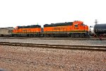 BNSF 2744 and BNSF 1537